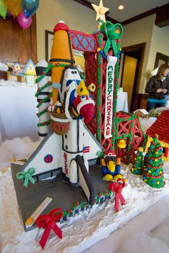 Gingerbread Space Shuttle