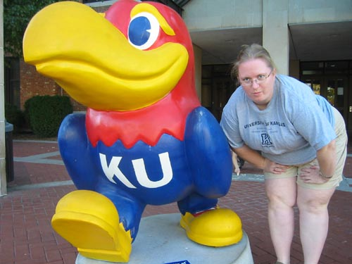 Jayhawks On Parade - Classic Jayhawk