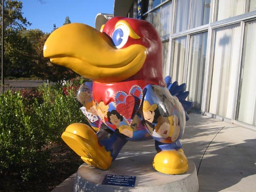 Jayhawks On Parade - So Many Faces, But One Heart That Bleeds Crimson and Blue