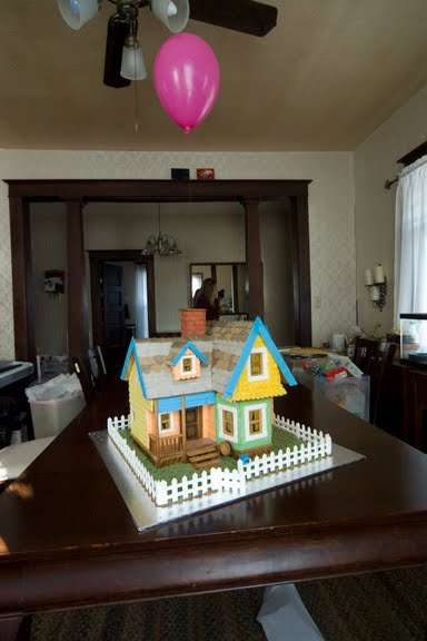 Gingerbread Carl's House from Pixar's UP